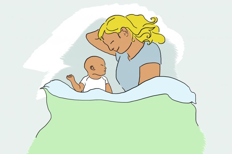 veilig samen slapen