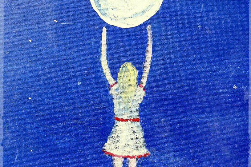 reiken naar de maan