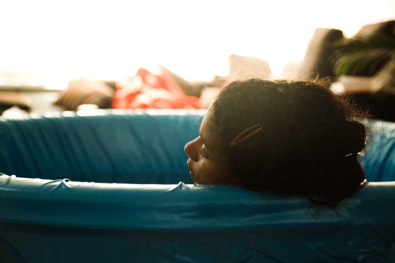 ontspannen bevallen
