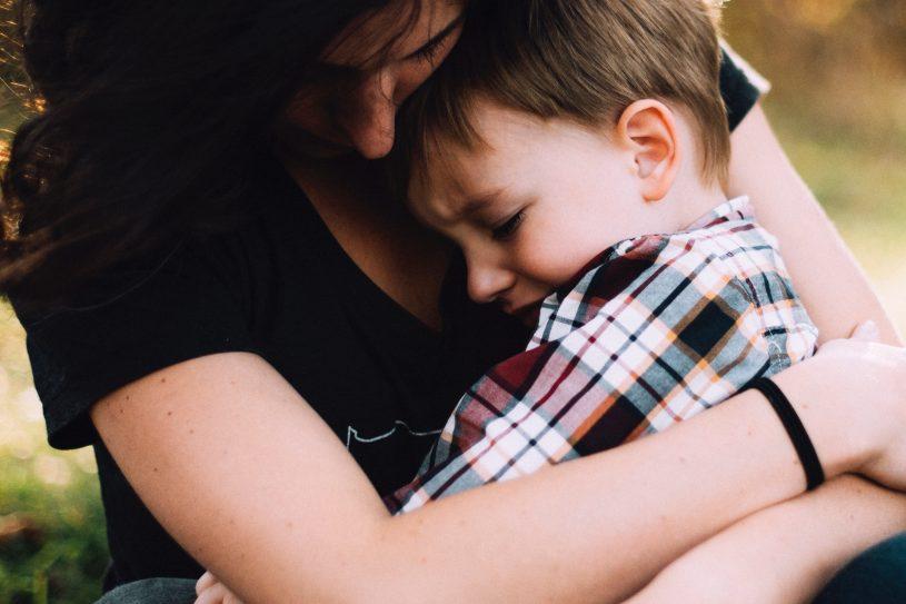 kind troosten ouderschap